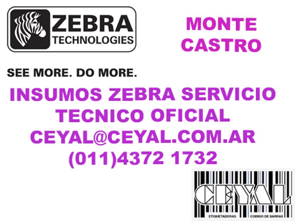 ZEBRA ZT 230 MONTE CASTRO