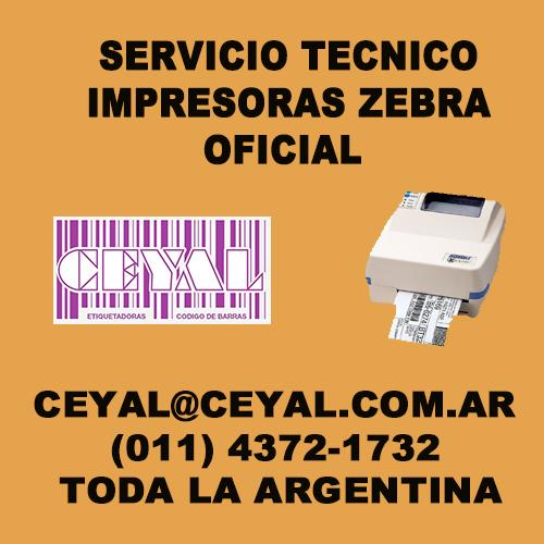 Cambio de correas y rulemanes impresora Zebra