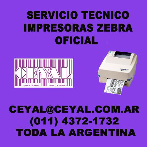 Placa de tablero principal repuesto impresora Zebra