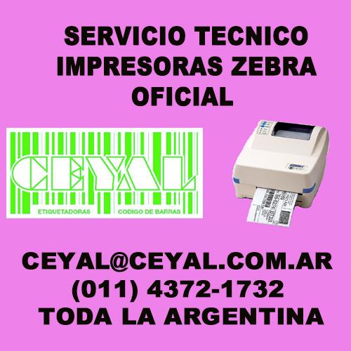 Sustitución Platten y cambio de correas de impresoras de etiquetas Zebra