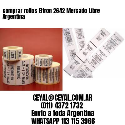 comprar rollos Eltron 2642 Mercado Libre Argentina