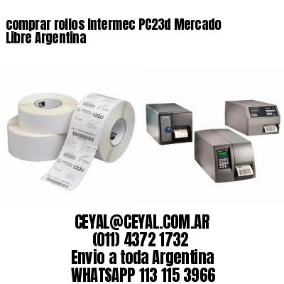 comprar rollos Intermec PC23d Mercado Libre Argentina