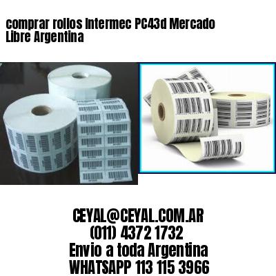 comprar rollos Intermec PC43d Mercado Libre Argentina