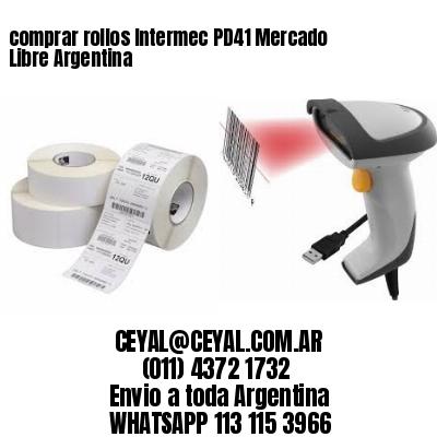 comprar rollos Intermec PD41 Mercado Libre Argentina