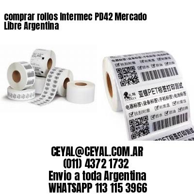 comprar rollos Intermec PD42 Mercado Libre Argentina