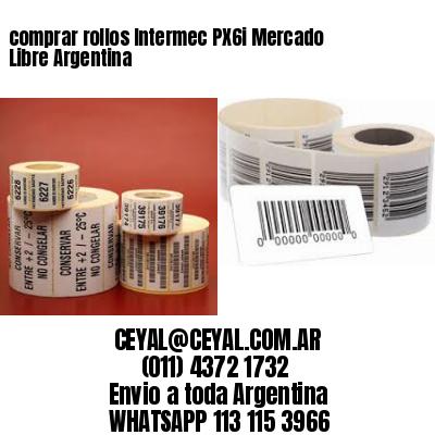 comprar rollos Intermec PX6i Mercado Libre Argentina
