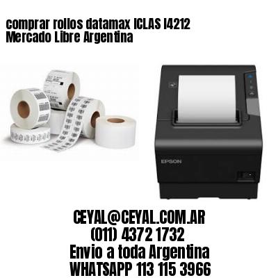 comprar rollos datamax ICLAS I4212 Mercado Libre Argentina
