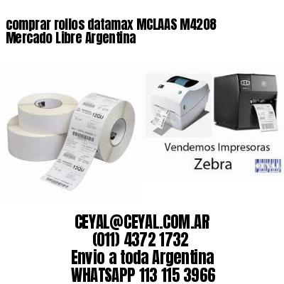 comprar rollos datamax MCLAAS M4208 Mercado Libre Argentina