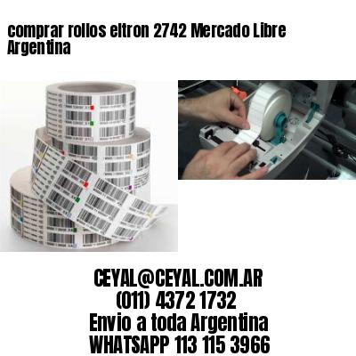 comprar rollos eltron 2742 Mercado Libre Argentina