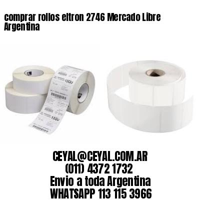 comprar rollos eltron 2746 Mercado Libre Argentina