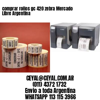 comprar rollos gc 420 zebra Mercado Libre Argentina