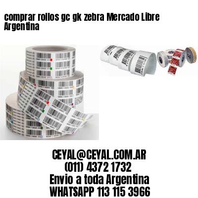 comprar rollos gc gk zebra Mercado Libre Argentina