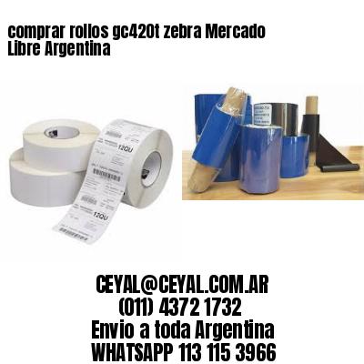 comprar rollos gc420t zebra Mercado Libre Argentina