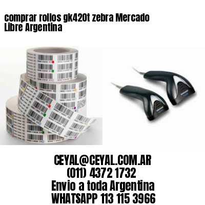 comprar rollos gk420t zebra Mercado Libre Argentina