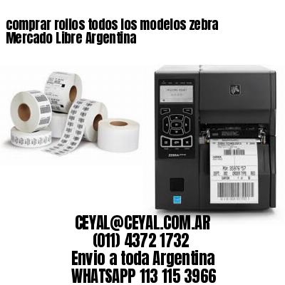 comprar rollos todos los modelos zebra Mercado Libre Argentina