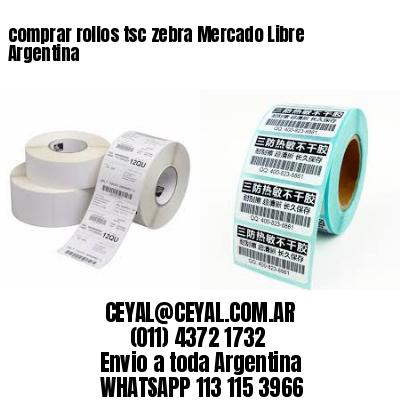 comprar rollos tsc zebra Mercado Libre Argentina