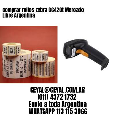 comprar rollos zebra GC420t Mercado Libre Argentina