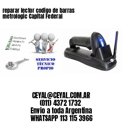reparar lector codigo de barras metrologic Capital Federal