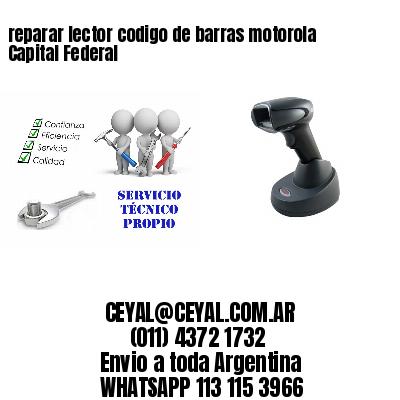 reparar lector codigo de barras motorola Capital Federal