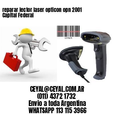 reparar lector laser opticon opn 2001 Capital Federal
