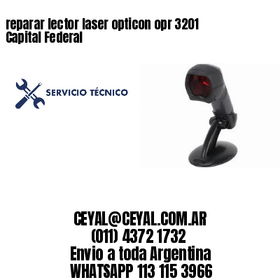 reparar lector laser opticon opr 3201 Capital Federal