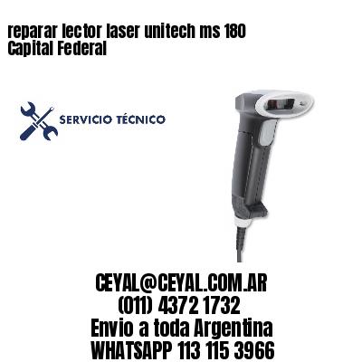 reparar lector laser unitech ms 180 Capital Federal