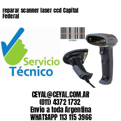 reparar scanner laser ccd Capital Federal