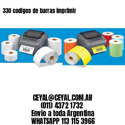 330 codigos de barras imprimir