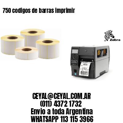 750 codigos de barras imprimir