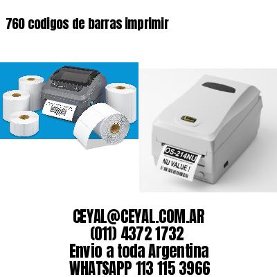 760 codigos de barras imprimir
