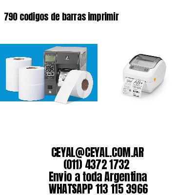 790 codigos de barras imprimir