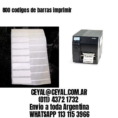 800 codigos de barras imprimir