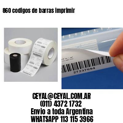 860 codigos de barras imprimir