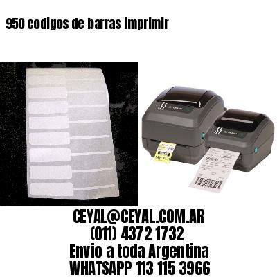 950 codigos de barras imprimir