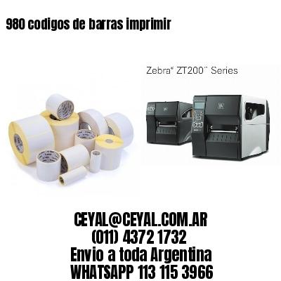 980 codigos de barras imprimir