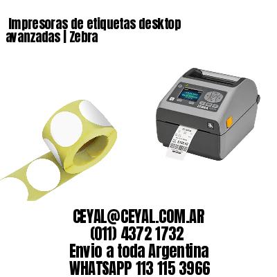 Impresoras de etiquetas desktop avanzadas | Zebra