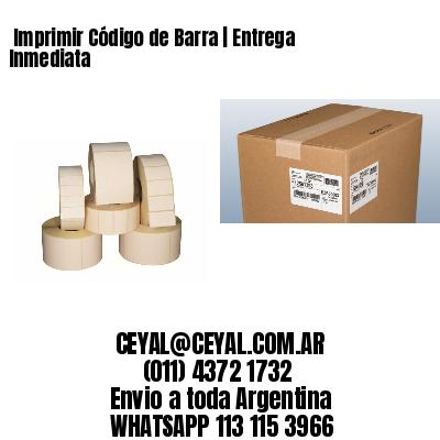 Imprimir Código de Barra | Entrega Inmediata