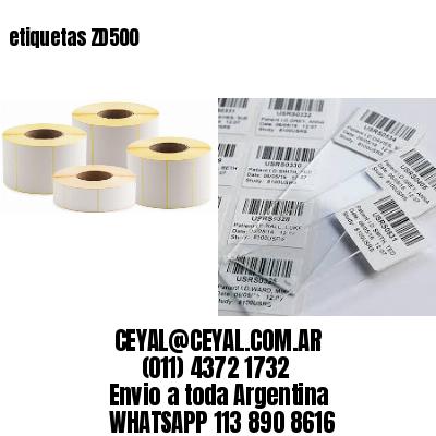 etiquetas ZD500