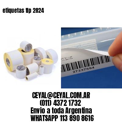 etiquetas tlp 2824