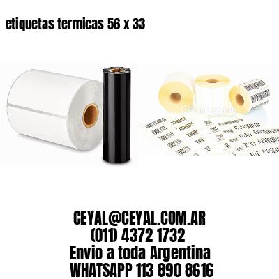 etiquetas termicas 56 x 33