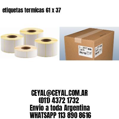 etiquetas termicas 61 x 37