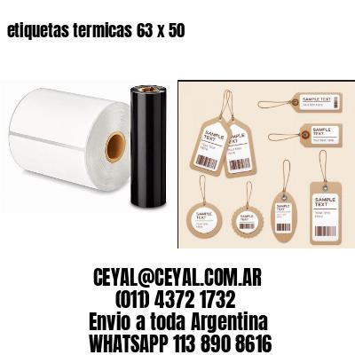 etiquetas termicas 63 x 50