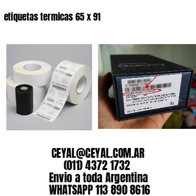etiquetas termicas 65 x 91