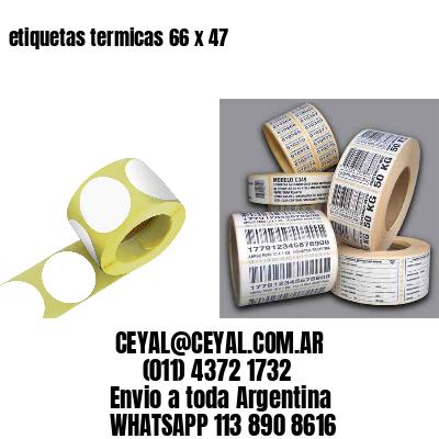 etiquetas termicas 66 x 47