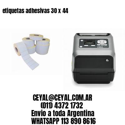 etiquetas adhesivas 30 x 44
