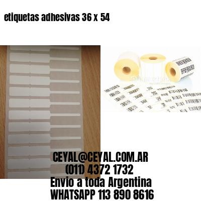 etiquetas adhesivas 36 x 54
