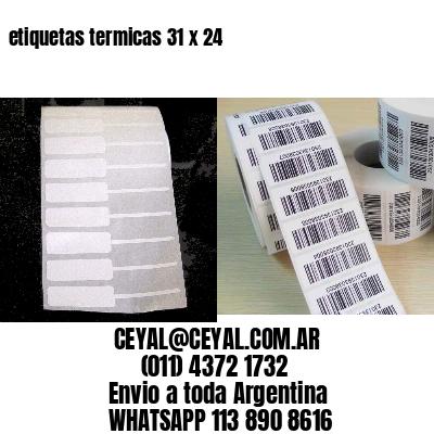 etiquetas termicas 31 x 24