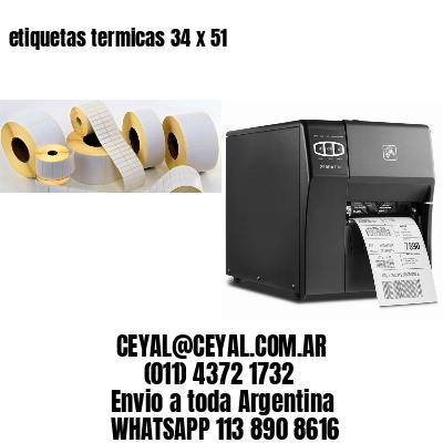 etiquetas termicas 34 x 51