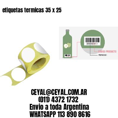etiquetas termicas 35 x 25