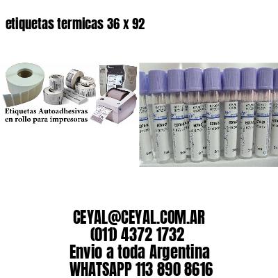 etiquetas termicas 36 x 92